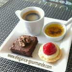 Café gourmand - Brownie express